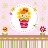 Fiore della neonata Fotografie Stock Libere da Diritti