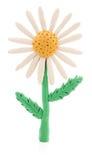 Fiore della plastilina Fotografia Stock Libera da Diritti