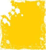 Fiore della priorità bassa di Grunge, elementi per il disegno, vettore Fotografie Stock