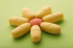 Fiore delle pillole Immagine Stock