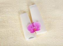 Fiore dello sciampo, del balsamo e dell'orchidea Immagine Stock Libera da Diritti