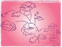 Fiore dentellare Immagini Stock