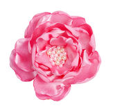 Fiore dentellare handmade del tessuto Immagini Stock