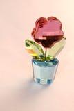 Fiore di cristallo Fotografia Stock Libera da Diritti