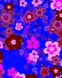 Fiore di felicità, fondo floreale Immagini Stock Libere da Diritti