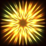 Fiore di fiamma Immagine Stock