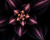 Fiore di frattale. Immagine Stock Libera da Diritti