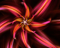 Fiore di frattale. Fotografie Stock Libere da Diritti