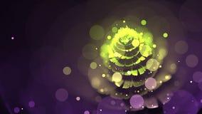 Fiore di frattale con Bokeh immagine stock