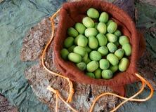 Fiore di loto della raccolta, seme, tè, alimento sano Immagine Stock
