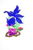 Fiore di loto e del Goldfish. Fotografia Stock Libera da Diritti
