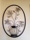 Fiore di parete Fotografia Stock