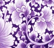 Fiore di parete ceramico Fotografia Stock Libera da Diritti