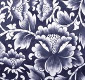 Fiore di parete ceramico Immagine Stock