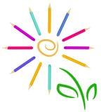Fiore di Pensil illustrazione di stock