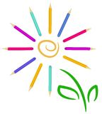 Fiore di Pensil Fotografia Stock Libera da Diritti