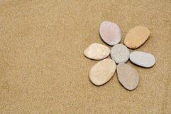 Fiore di pietra Fotografia Stock Libera da Diritti