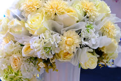 Fiore di plastica per la decorazione Immagine Stock Libera da Diritti