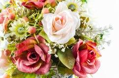 Fiore di plastica variopinto Fotografie Stock