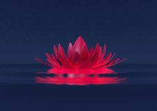 Fiore di zen Immagini Stock Libere da Diritti