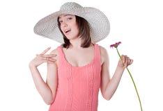 Fiore a disposizione Immagini Stock
