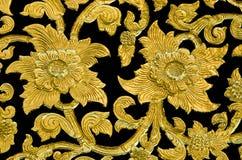 Fiore dorato Immagini Stock