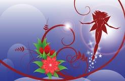 Fiore e fairy Immagine Stock