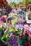 Fiore giusto Fotografia Stock