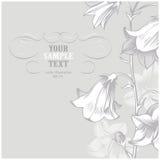 Fiore grigio Fotografia Stock