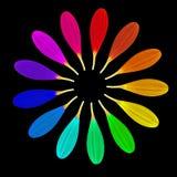 Fiore magico del tredici-petalo Immagini Stock