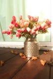 Fiore in metallo Fotografia Stock Libera da Diritti