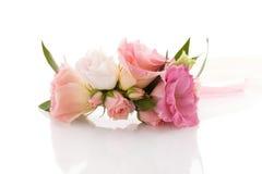 Fiore nuziale del polso fotografie stock