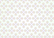 Fiore porpora dolce e polline giallo su colore pastello Fotografie Stock