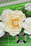 Fiore rosa del pepe Fotografia Stock Libera da Diritti
