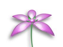 fiore selvaggio 3D Fotografia Stock