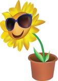 Fiore sorridente royalty illustrazione gratis