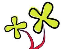 Fiore spazzolato - vettore illustrazione vettoriale