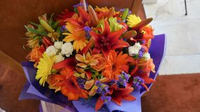 Fiore usato per un funerale fotografie stock libere da diritti