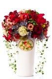 Fiore in vaso dell'annata Fotografia Stock
