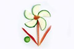 Fiore vegetariano Fotografia Stock