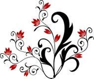 Fiore - vettore illustrazione di stock