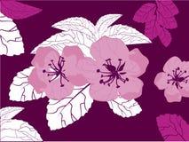 Fiore, vettore Illustrazione di Stock