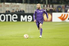 Fiorentina - AS Roma - UEFA Europa League Huitieme de Finale:Match Aller Royalty Free Stock Images