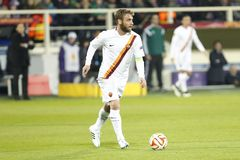 Fiorentina - AS Roma - UEFA Europa League Huitieme de Finale:Match Aller Stock Photo