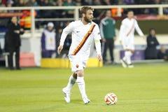 Fiorentina - AS Roma - UEFA Europa League Huitieme de Finale:Match Aller Stock Photo