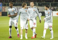 Fiorentina - AS Roma - UEFA Europa League Huitieme de Finale:Match Aller Stock Photography