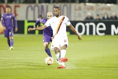Fiorentina - AS Roma - UEFA Europa League Huitieme de Finale:Match Aller Royalty Free Stock Photography