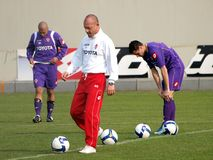 Fiorentina Football Club Stock Photos