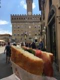 Fiorentina Schiacciata стоковые фотографии rf