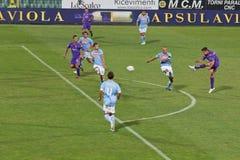 Fiorentina vs Napoli, D'Agostino scores 1-1 Goal royalty free stock photography